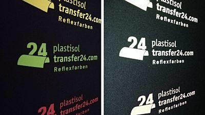 Reflex transfer coloured
