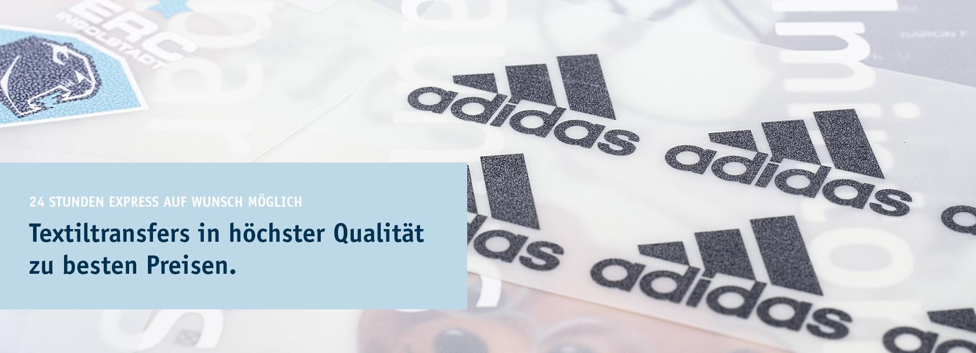 Textiltransfers in höchster Qualität zu besten Preisen.